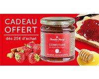 Famille Mary: La confiture de fraise rhubarbe et miel offerte dès 25€ d'achats !