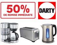 Darty: - 50% sur une sélection de petit électroménager