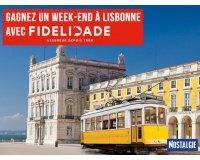Nostalgie: Un week-end à Lisbonne pour 2 personnes à gagner