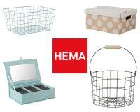 HEMA: 1 rangement offert en cadeau pour 2 achetés