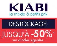 Kiabi: [Déstockage] Jusqu'à -50% sur une sélection d'articles femme, homme et enfant