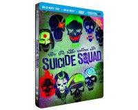 Amazon: Suicide Squad Steelbook Blu-Ray 3D + 2D + DVD + Copie Digitale à 13,99€