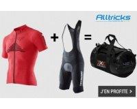 Alltricks: 1 tenue complète Effektor ou Twyce achetée = 1 sac X-Bionic 42L offert