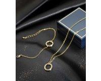 Atlas for Men: Parure Mille Eclats (collier+bracelet) à 8,95€ au lieu de 29,90€
