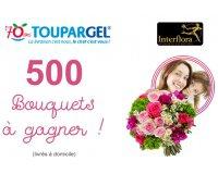 Toupargel: 500 bouquets à recevoir pour la fête des mères en commandant avant le 17 mai