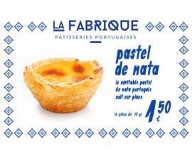 Franprix: 1,50€ les pasteis de Nata