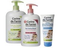 Corine de Farme: 3 échantillons gratuits de la gamme bébé