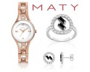 MATY: [Le shop OUTLET] Jusqu'à -70% sur une sélection de bijoux et de montres