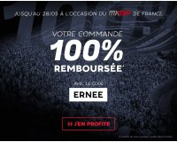 Motoblouz: Votre commande d'équipement cross 100% remboursée en bons d'achat
