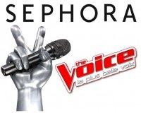 Sephora: Des places pour la finale de The Voice à Paris le 10 juin à gagner