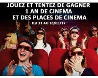 Carrefour: 1 an de cinéma ou des places à gagner
