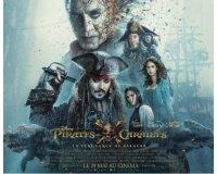 Journal du Geek: 30 lots Pirates des Caraïbes : la vengeance de Salazar à gagner
