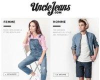 Uncle Jeans: [Promos de mi-saison] Jusqu'à -60% sur la collection printemps-été