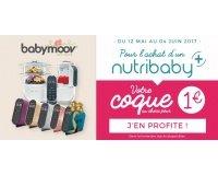 Allobébé: 1 coque à 1€ pour tout achat d'un Nutribaby de Babymoov