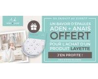 Allobébé: Un bavoir d'épaule Aden+Anaïs offert pour tout achat d'un produit layette