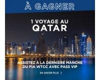 Eurosport: 2 places pour assister au Grand Prix WTCC du Qatar et des goodies à gagner