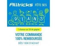 Alltricks: [Anniversaire 9 ans] 1 chance sur 20 d'être remboursé-e dès 150€ d'achat