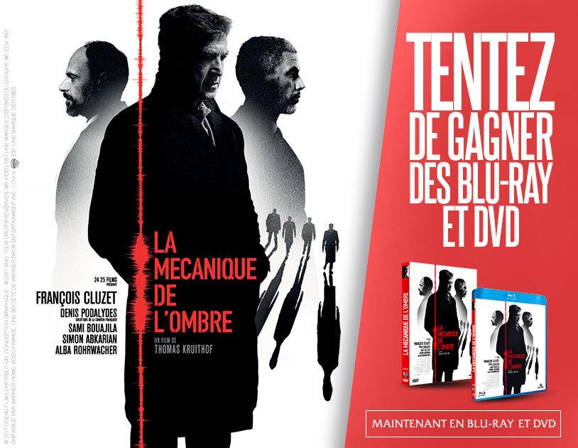 """Code promo BFMTV : 20 DVD & 5 Blu-ray du film """"La mécanique de l'ombre"""" à gagner"""