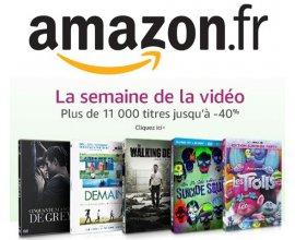 Amazon: Semaine de la vidéo : plus de 11 000 titres en DVD et Blu-ray jusqu'à - 40%