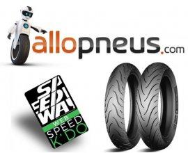 Allopneus: Jusqu'à 40€ offerts chez Speedway pour l'achat de pneus moto Michelin