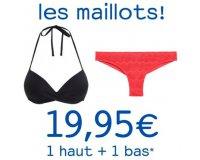 Undiz: 1 haut + 1 bas de maillot de bain pour 19,95€