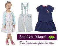 Sergent Major: 10 € de réduction pour 2 robes ou 2 bermudas achetés