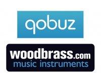 Woodbrass: 1 mois de streaming de musique avec Qobuz offert pour tout achat sur le site