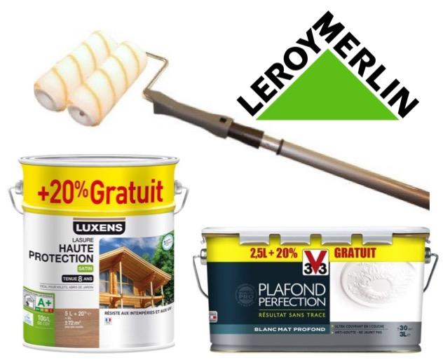 Les 12 Jours Peintures Promotions Jusqu à 40 Leroy Merlin