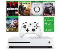 Cdiscount: Xbox One S 500 Go + 5 jeux + abonnement Xbox Live de 3 mois à 224,99€