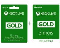 Micromania: 12 mois d'abonnement au Xbox Live acheté = 3 mois supplémentaires offerts