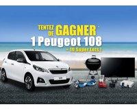 """Atlas for Men: 1 Peugeot 108, 1 Téléviseur 49"""" Edge LED Full HD Sony... à gagner"""