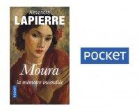 """Femme Actuelle: 50 romans """"Moura"""" d'Alexandra LAPIERRE à gagner"""