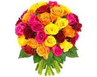 Florajet: Bouquet de 40 roses multicolores à 19,90€