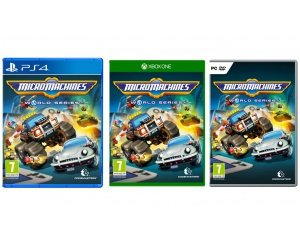 micro machines world series sur ps4 xbox one ou pc 19 99 micromania. Black Bedroom Furniture Sets. Home Design Ideas