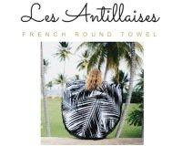 Home magazine: Des serviettes rondes Les Antillaises d'une valeur de 80€ à gagner