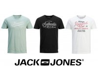 JACK & JONES: 3 t-shirts pour 30€