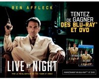 "BFMTV: 20 DVD & 5 Blu-ray du film ""Live by night"" à gagner"