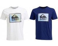 Go Sport: T-shirt Homme Quiksilver Blanc ou Bleu Ruling Tee (taille S à XXL) à 9,99€