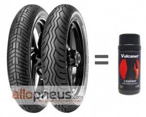 2 pneus moto