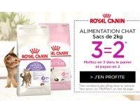 Truffaut: 3 sacs d'alimentation pour chats au prix de 2