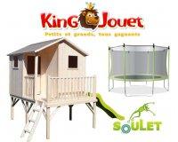King Jouet: 10% de réduction sur les trampolines, portiques et accessoires Soulet