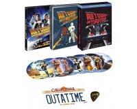 Cdiscount: Coffret Blu-ray Collector Retour vers le Futur - Trilogie à 32,65€