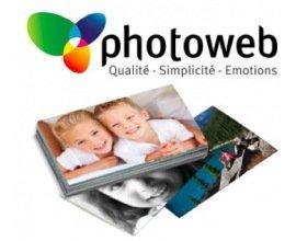 Photoweb: 70% de réduction sur votre commande pour les nouveaux clients