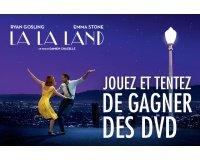 """Allociné: 20 DVD du film """"La la land"""" à gagner"""
