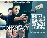 """BFMTV: 30 places de cinéma pour le film """"Conspiracy"""" à gagner"""