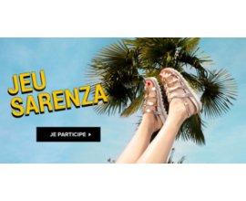 Sarenza: Un voyage d'une valeur de 3000€ avec Thomas Cook et des sandales à gagner