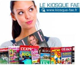 Kiosque FAE: 15€ de remise + 1 cadeau surprise pour toute commande