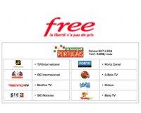 Free: [Freebox TV] Le bouquet Portugais sera en clair du 12 au 19 juin 2017