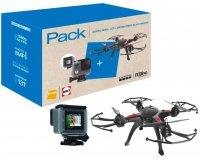 Darty: Drone R Bird Black Master + GoPro HERO+ LCD à 169,99€