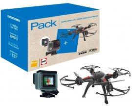Darty: Drone R Bird Black Master + GoPro HERO+ LCD à 249€ au lieu de 479,99€